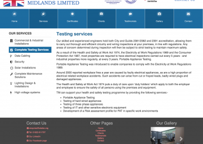 Complete Testing Services Page