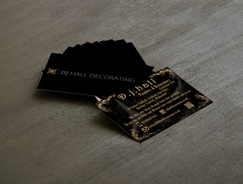 dj-hall-decorating-business-cards